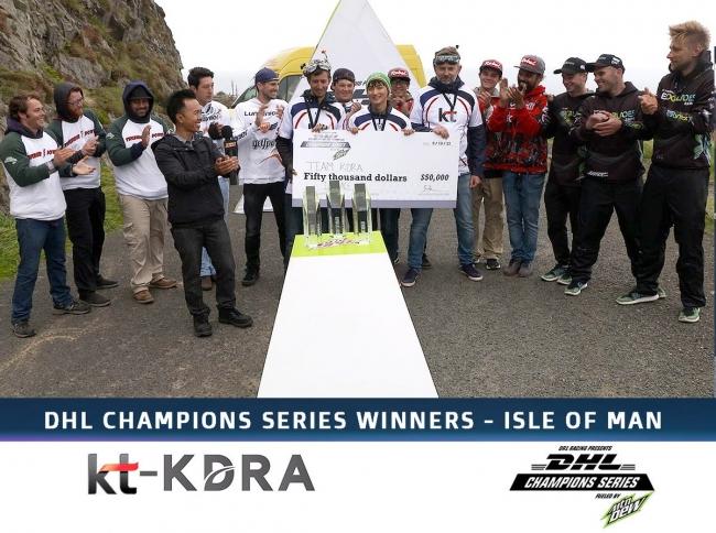 去年DHL CHAMPIONS SERIESで王者に輝いたTeam KT-KDRA