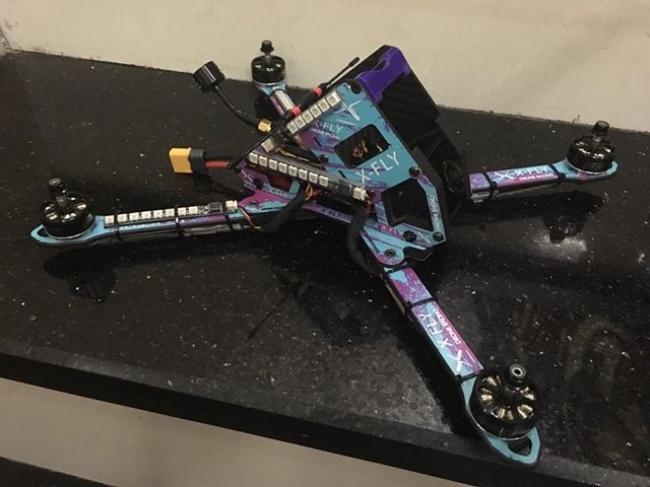 X-FLY専用ドローンレース機(完成版)