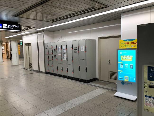 御堂筋線 梅田駅(中北西改札外)