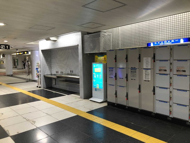 長堀鶴見緑地線 ドーム前千代崎駅(改札外)