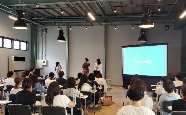 「女性の #元気貯金 セミナー produced by スカルプD ボーテ」の様子