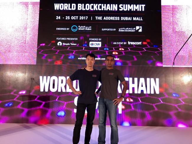 ObENの共同設立者であるAdam ZhengとNikhil Jain氏はドバイ予選大会で一位を受賞しました。