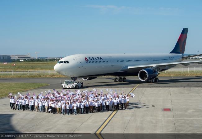 デルタ航空、エアバスから新型の...