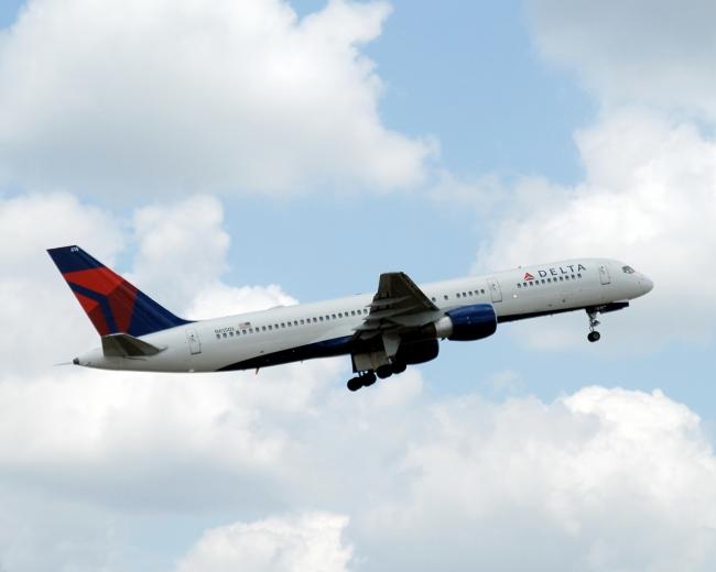デルタ航空短距離リゾート便に使用しているB757型機