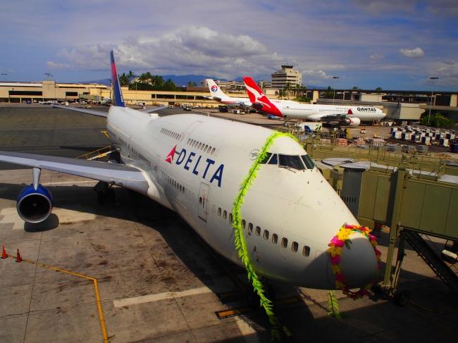 デルタ航空特別賞 「HNL-NRTラストフライト」