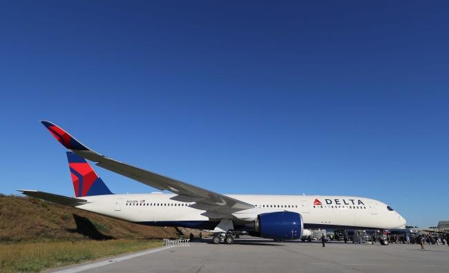 デルタ航空A350型機