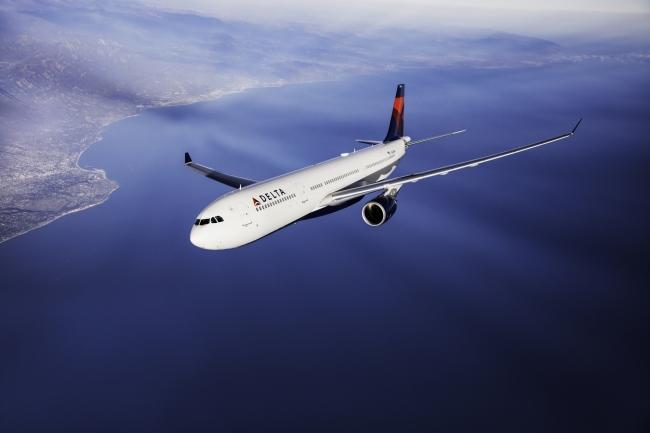 デルタ航空A330型機