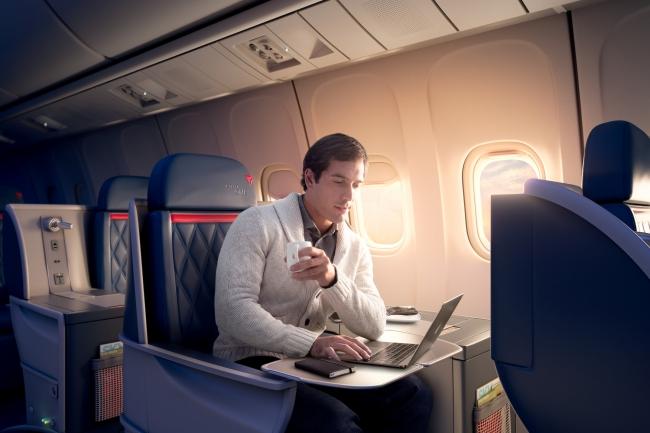 デルタ航空ビジネスクラス「デルタ・ワン」