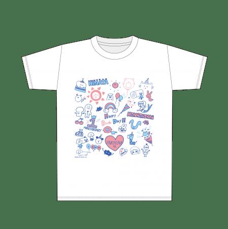Tシャツ (サイズ:M/L) 各¥3,300