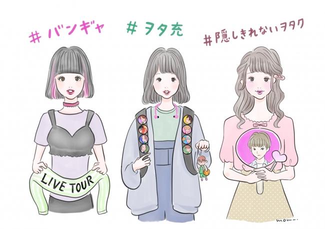 全国女子」と「SHIBUYA109ガールズ」比較!「ヲタ活(ファン活動