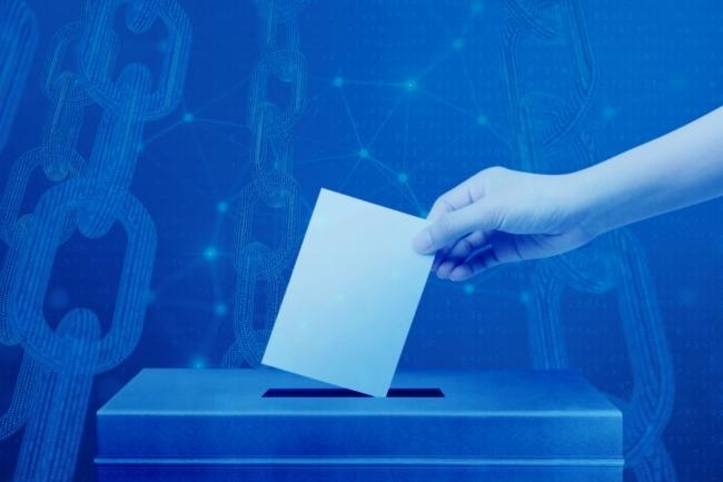 ブロックチェーンを活用し選挙を便利で透明に