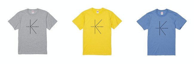 teamK Tシャツ 2,272円(税抜)