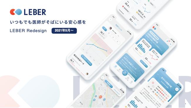医療相談アプリ『LEBER(リーバー)』のデザインリニューアル|株式会社リーバーのプレスリリース|アインの集客マーケティングブログ