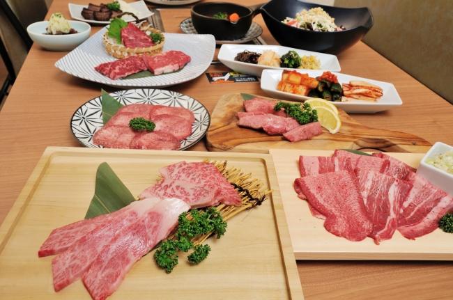 こだわりの牛たん料理の一例