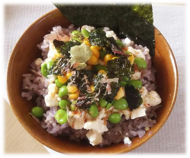 ●特別賞:船山華子様 考案 「夏の豆腐ねこまんま」