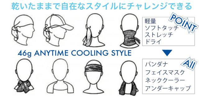 紫外線・熱中症対策・暑さ対策の様々なシーンに対応