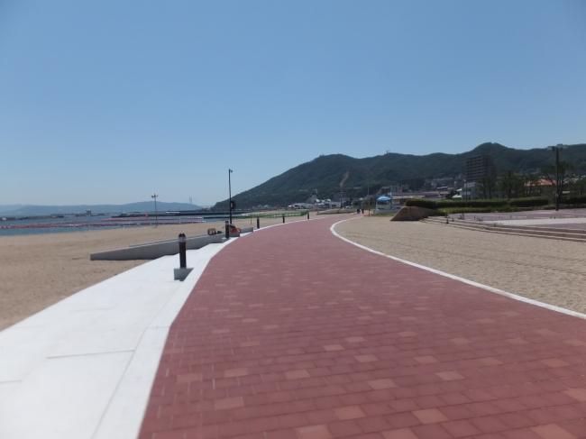 遊歩道の設置