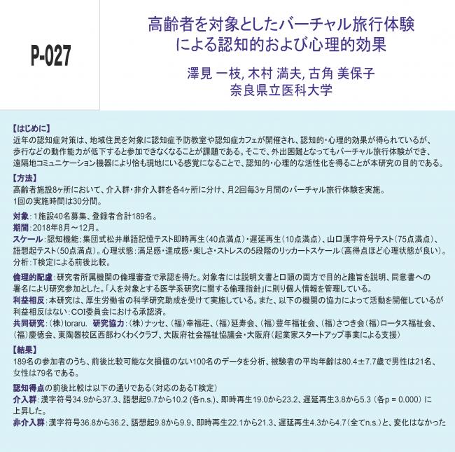 日本精神保健看護学会第29回学術集会・総会(学会発表資料)1