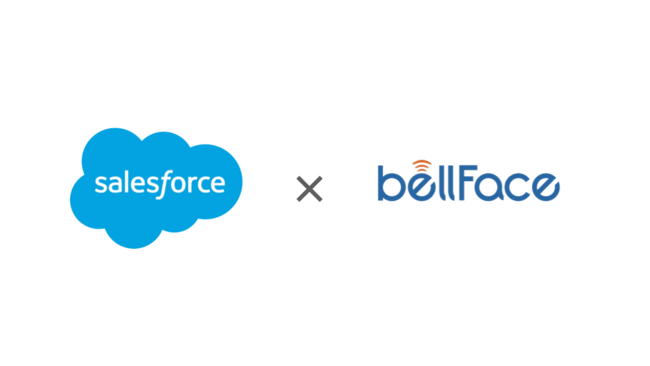 bellFace×Salesforceの連携が強化