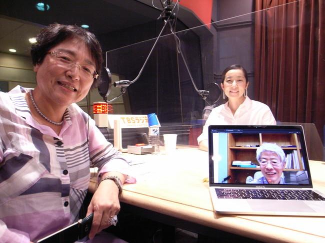 内藤いづみさんと番組アシスタント安田佑子
