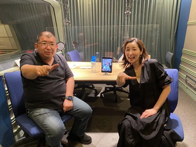 川上アキラさんと安田佑子