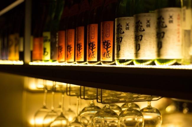 日本酒を扱う珍しいシーシャバー