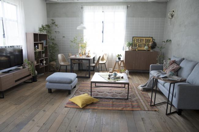 家具・インテリア配置例