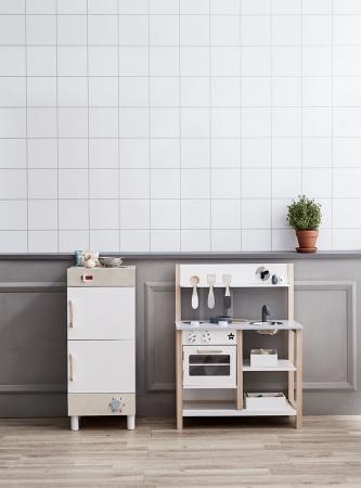 冷蔵庫とキッチンでお家がビストロに変身