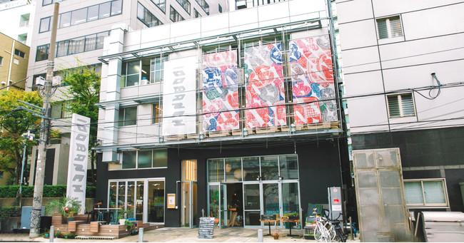 未来をつくる実験区「100BANCH」を彩った懸垂幕