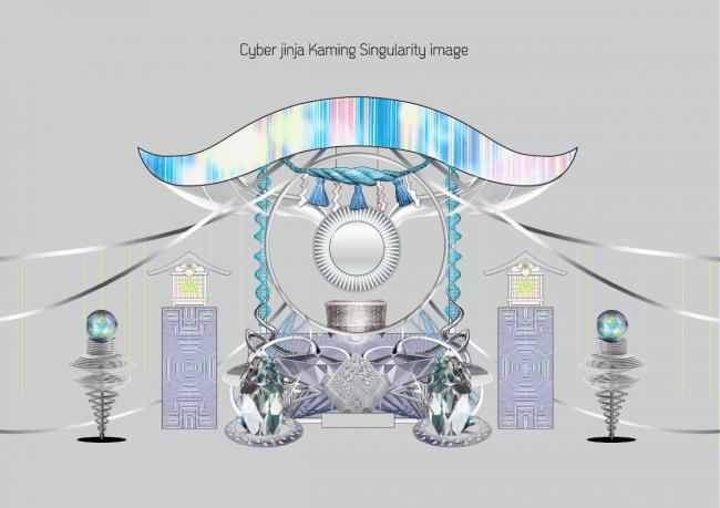 サイバー神社イメージ図