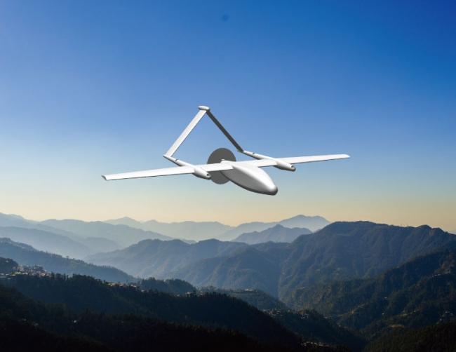 実用化・量産化を目指すテラ・ラボ自社開発機体の様子(イメージ)