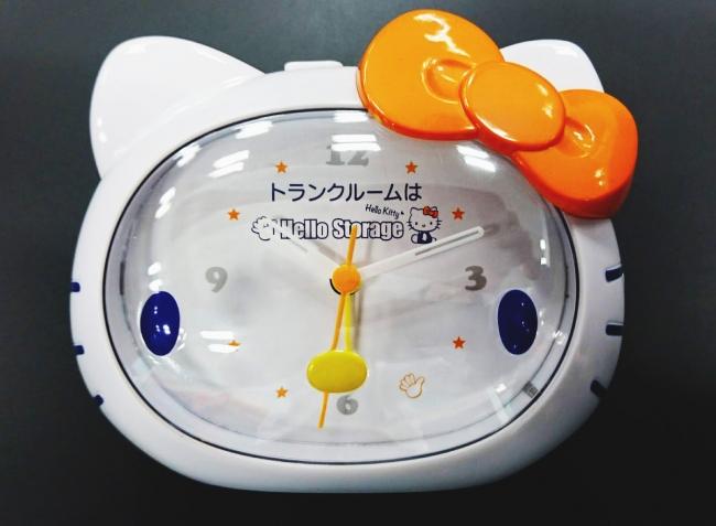ハローキティオリジナル「目覚まし時計」