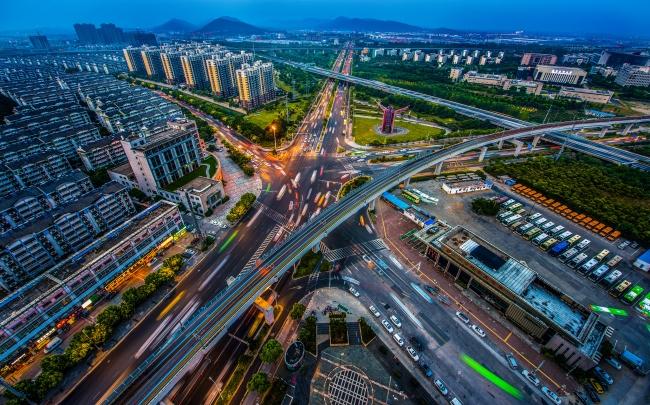 南京の発達した交通