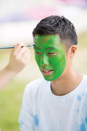 全身をグリーンに染めるのがセント・パトリックデーの醍醐味!?