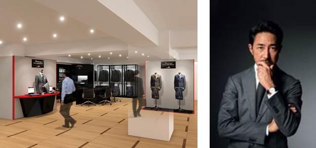 写真右:ファッションディレクター干場義雅