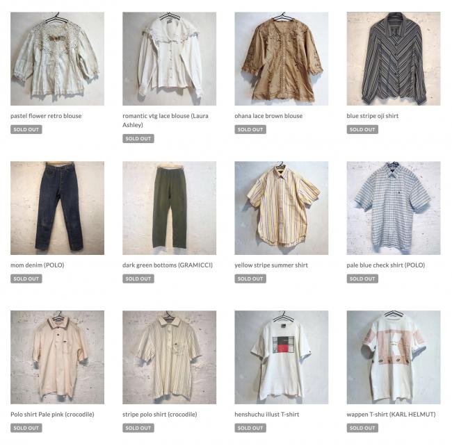 ECサイト商品リストイメージ