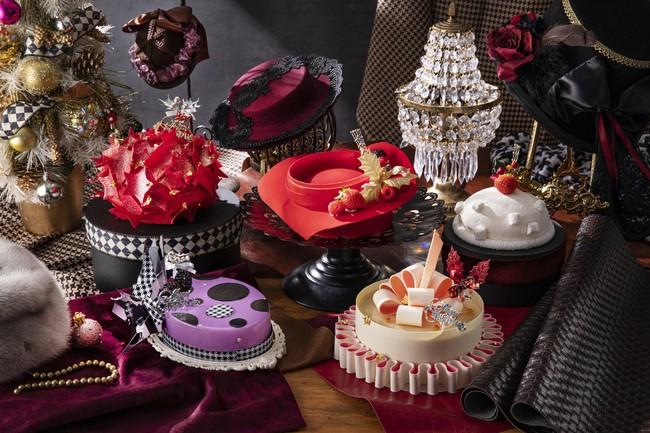 2020年のクリスマスケーキコレクション『サロン・ドゥ・シャポー』