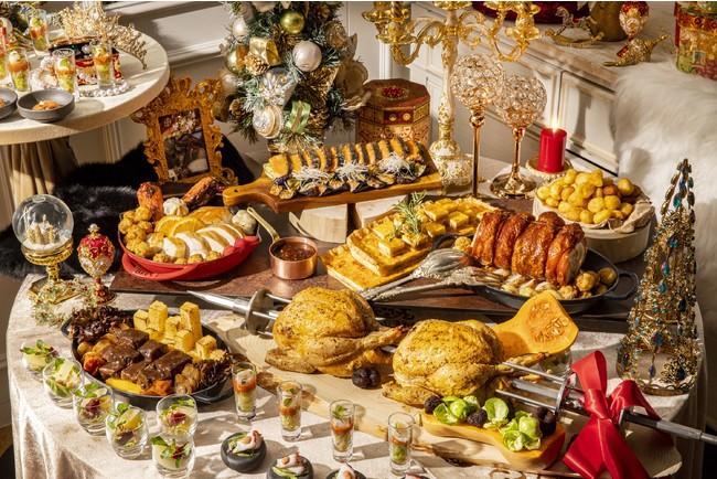 『King & Queenのクリスマス』スイーツ&ランチビュッフェのランチアイテム