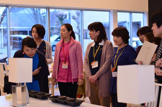 熊本市内の介護施設の職員・ 住民の皆様への試食会