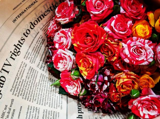 誰かへ贈った花束も、手紙になりうるのではないか
