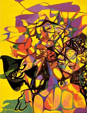 「スペイン・ラプソディー」 1955 年 油彩、キャンバス