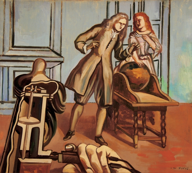 「魂の話」 1931 年 油彩、キャンバス