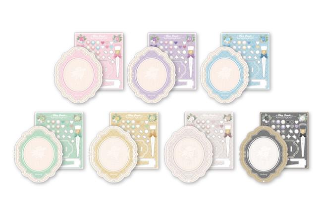 パールコンパクトアクリルフレーム(全7種)¥2,750(税込)