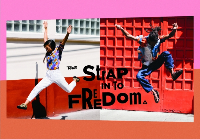 STRAP IN TO FREEDOM Image