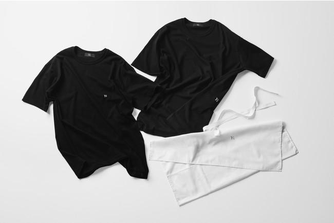2PIECES T-SHIRTS Black T+Black T