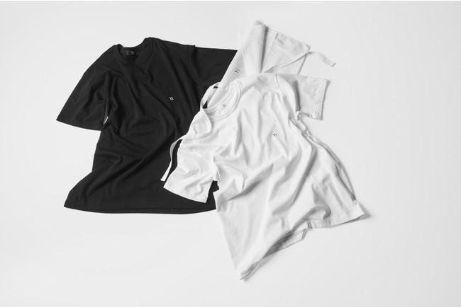 2PIECES T-SHIRTS Black T+White T