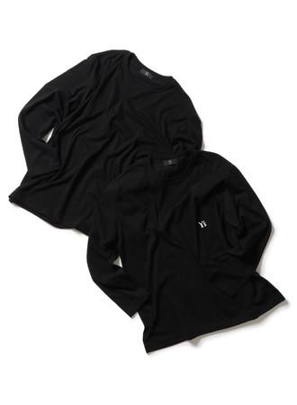 2PIECES T-SHIRTS Black T-Black T