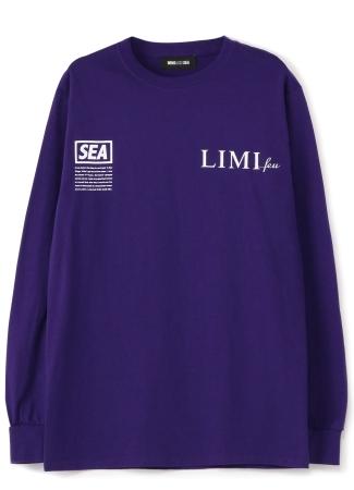 ロングスリーブTシャツ(Purple)伊勢丹新宿店限定カラー 17,000 yen+Tax