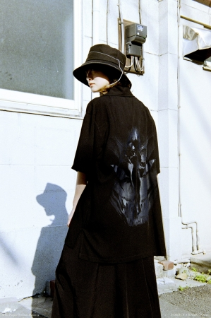 Ground Y × Devilman THE SHOP YOHJI YAMAMOTO Limited Collection 生駒里奈さん5