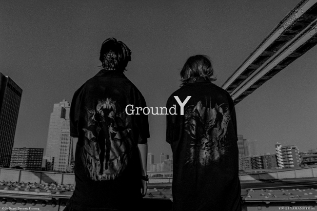Ground Y × Devilman THE SHOP YOHJI YAMAMOTO Limited Collection main visual